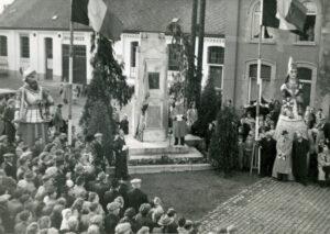Hulde aan Alfons de Cock te Herdersem in 1950;